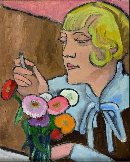 Portrait of artist Margret Cohen, 1932, by Gabriele Münter.