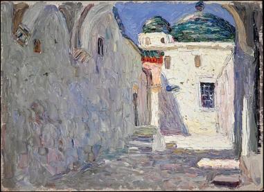 Tunisian street, Kandinsky, 1905