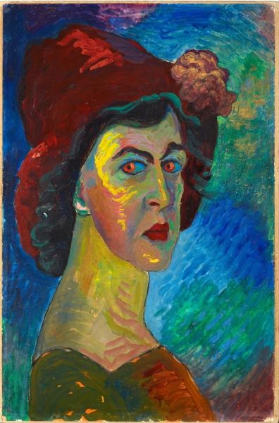 Marianne von Werefkin, Self Portrait 1910.